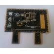 Black rigid PCB double layer
